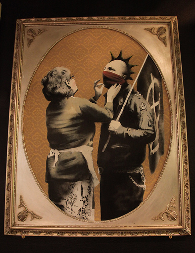 Famed Street Artist Banksy: Museum Anarchist