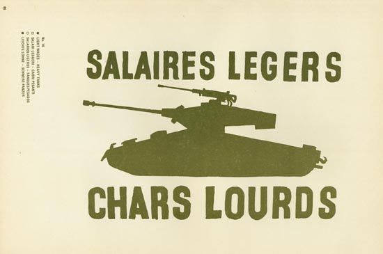 Light Wages, Heavy Tanks
