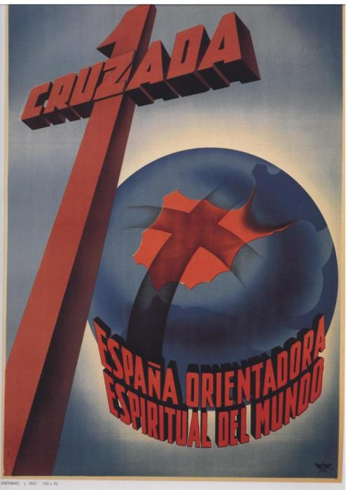 Spainish:  Crusade: Spain is the Spiritual Guidance of the World