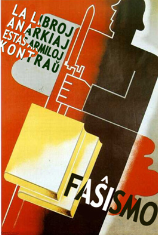 Anarchistic books are weapons against fascism