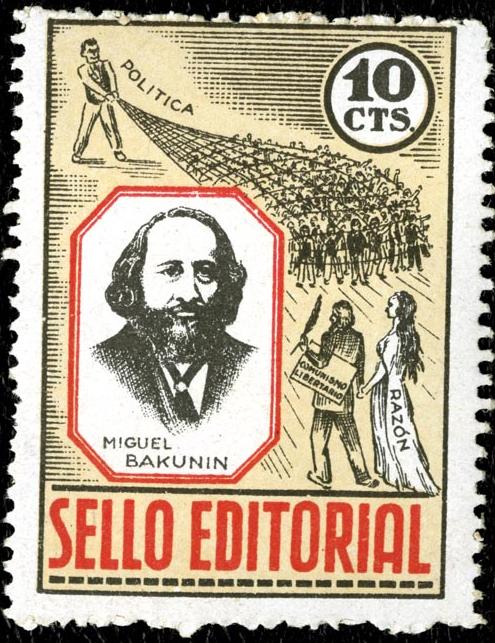 Bakunin Stamp