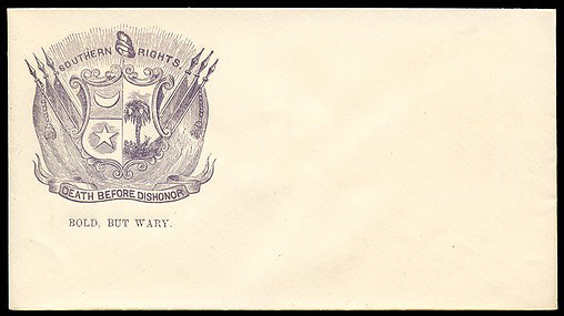 Confederate Envelope, Southern Rights