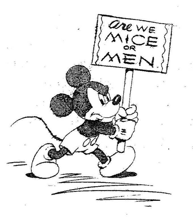 Disney Mickey Are We Mice or Men