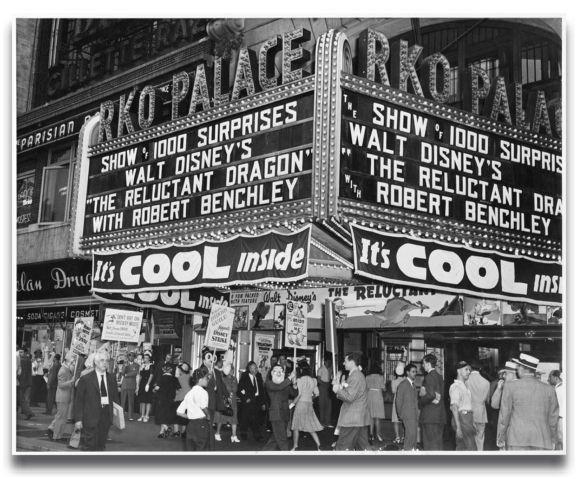 Disney Picket Outside Theatre 2