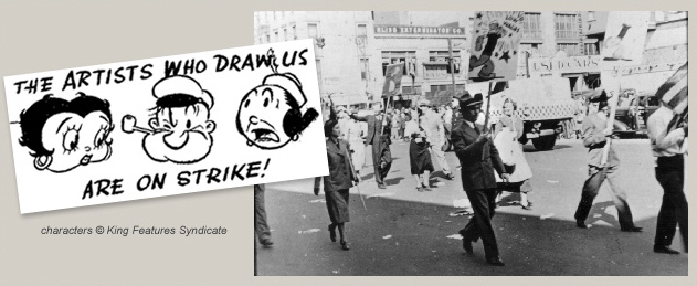 Disney The Artists Who Draw Us Are On Strike!