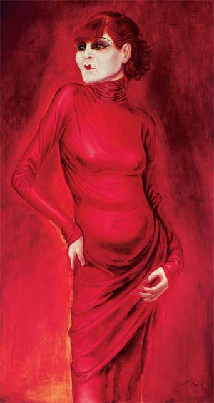Otto Dix depiction of a Woman