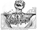 IWW Fist in Solidarity Newspaper 1917