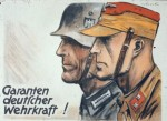 German. The guarantee of German military strength