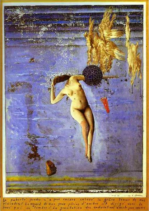 Max Ernst: Approacing Puberty or The Pleiad
