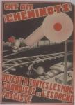 Railway workers. Boycott all merchandise from fascist Spain