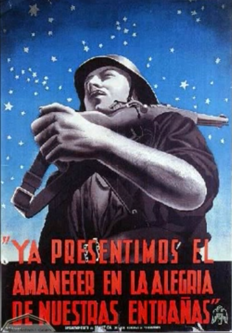 Spain Nationalist Poster.