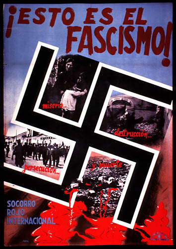 This is fascism. Misery, destruction, persecution and death