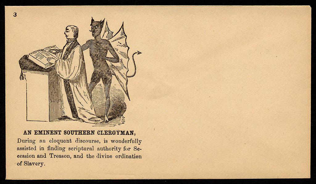 Union Envelope, An Eminent Southern ClergyMan